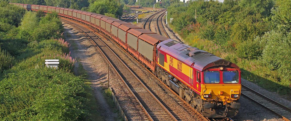 DB Schenker freight train
