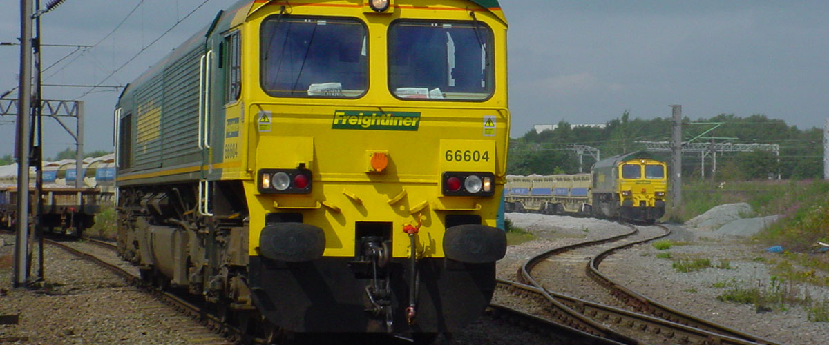Freightliner freight train