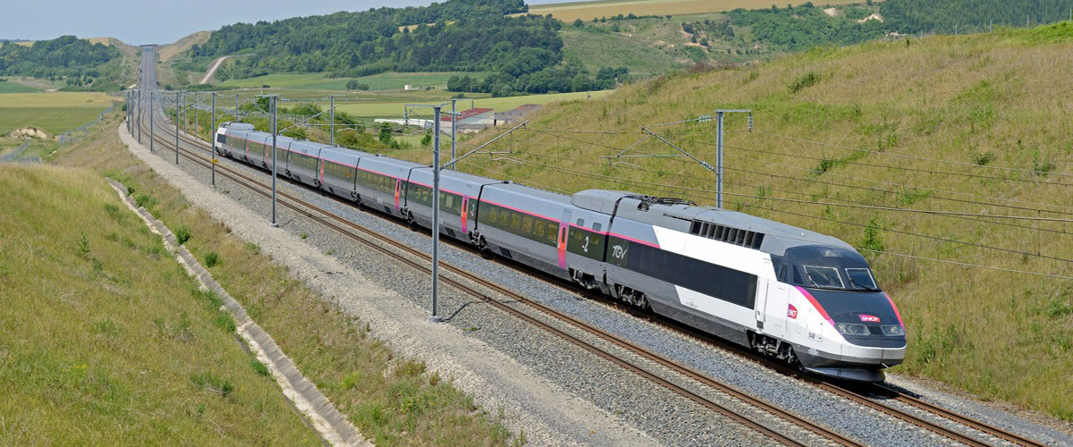 SNCF High Speed TGV Train