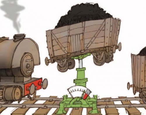 Weighing wagons