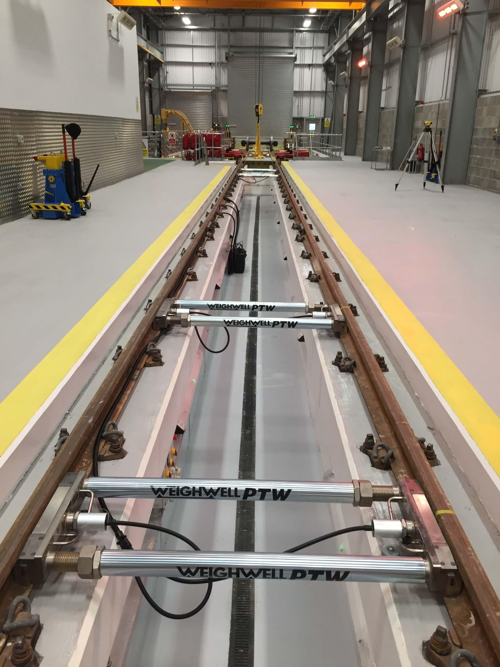 Full Car Weighing System at Train Maintenance depot