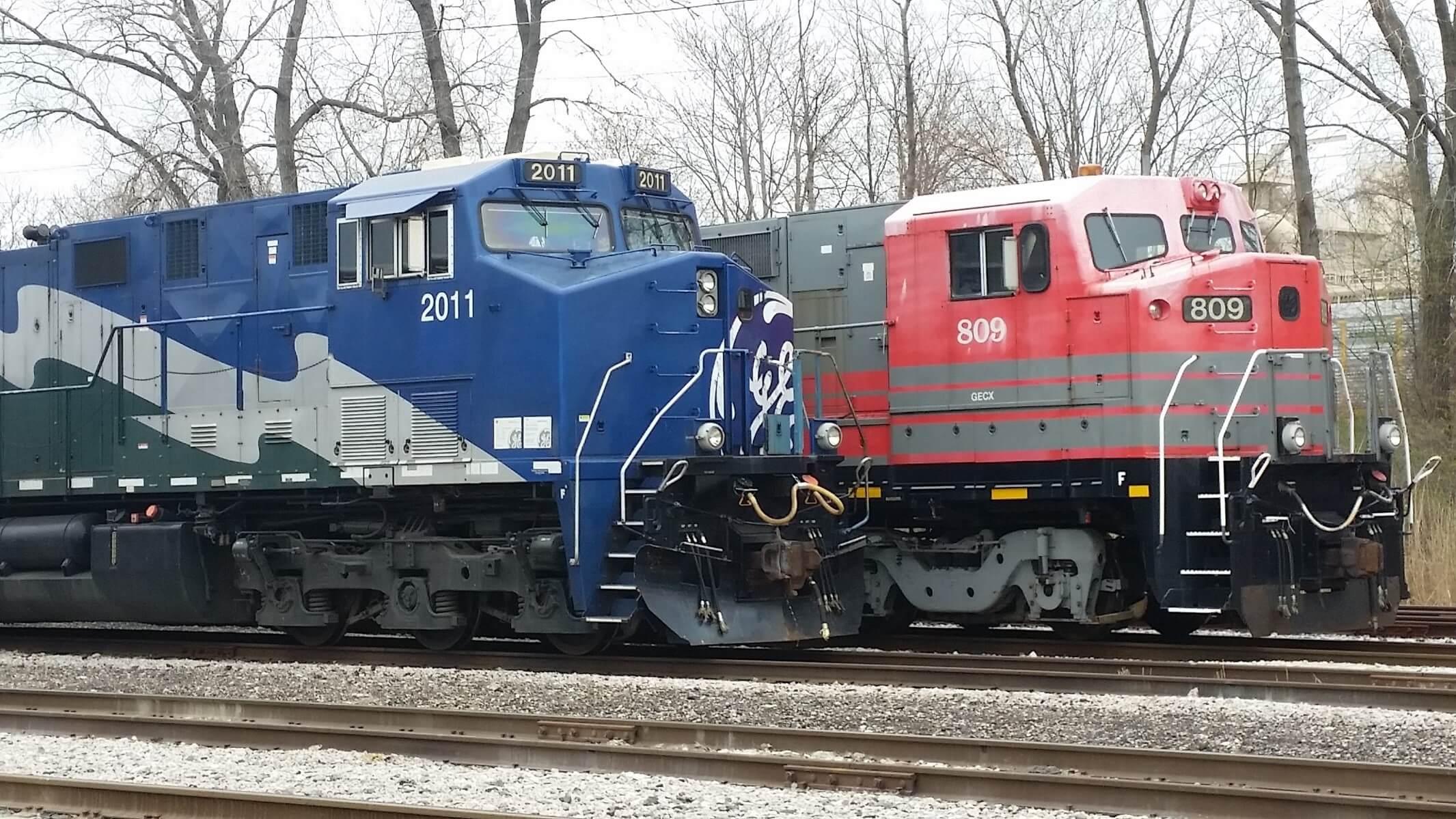 GE Transportation locomotives