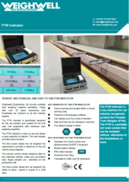 PTW Indicator brochure
