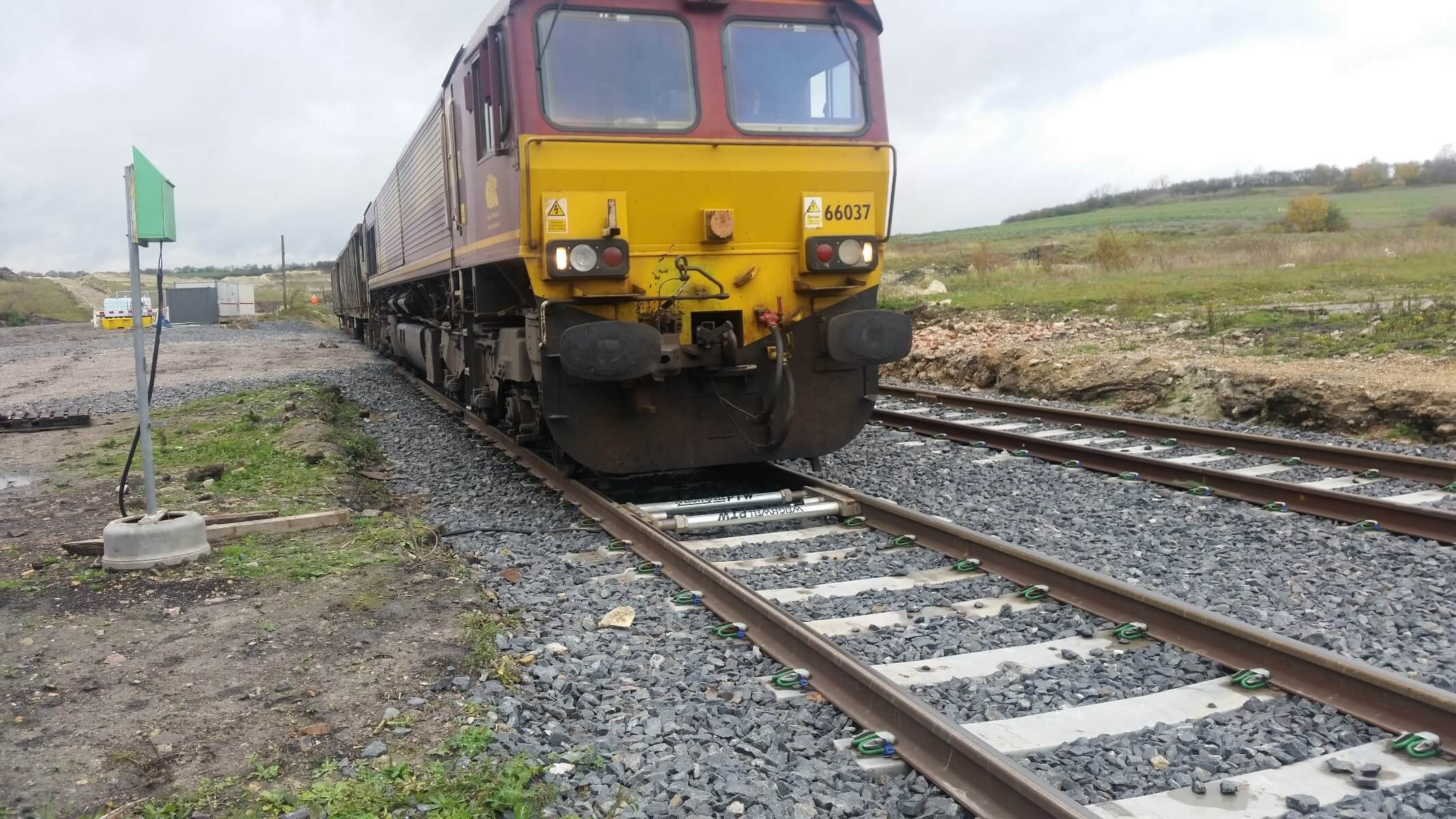 PTW1 HD weighing rail freight
