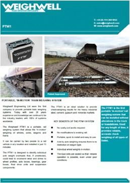PTW1 brochure