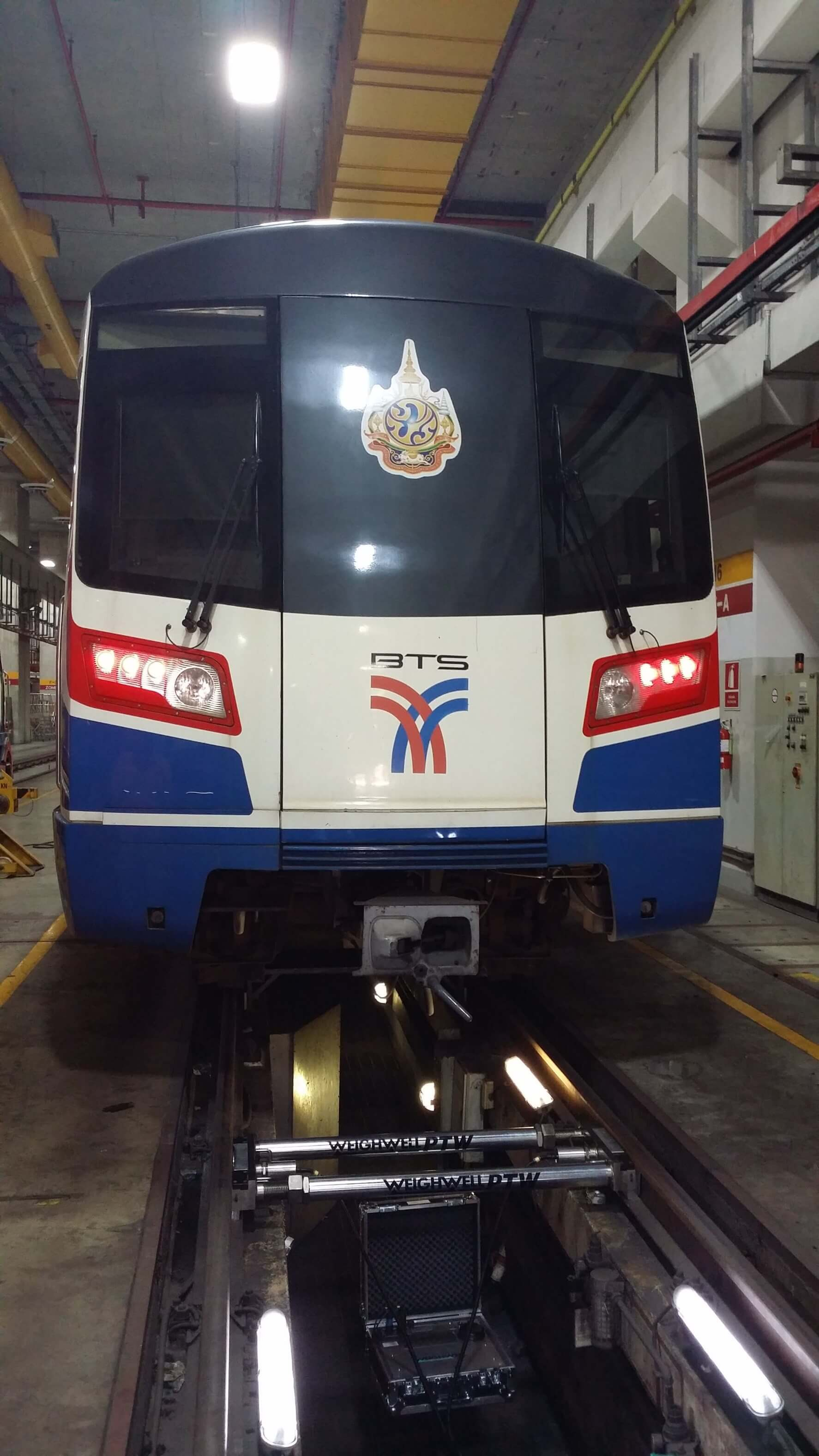Single Axle Weighing System in Thailand