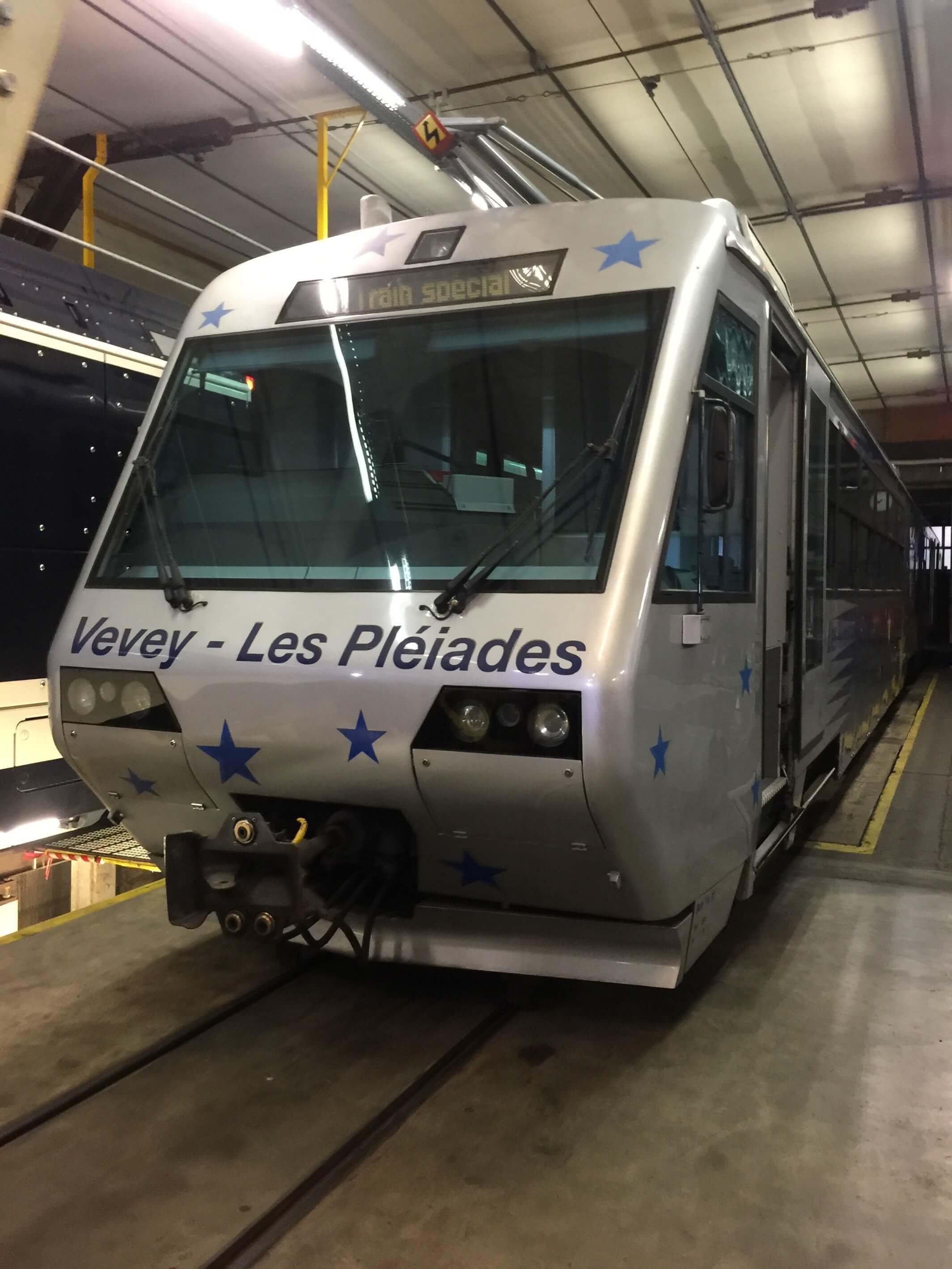 Train weighing in Switzerland