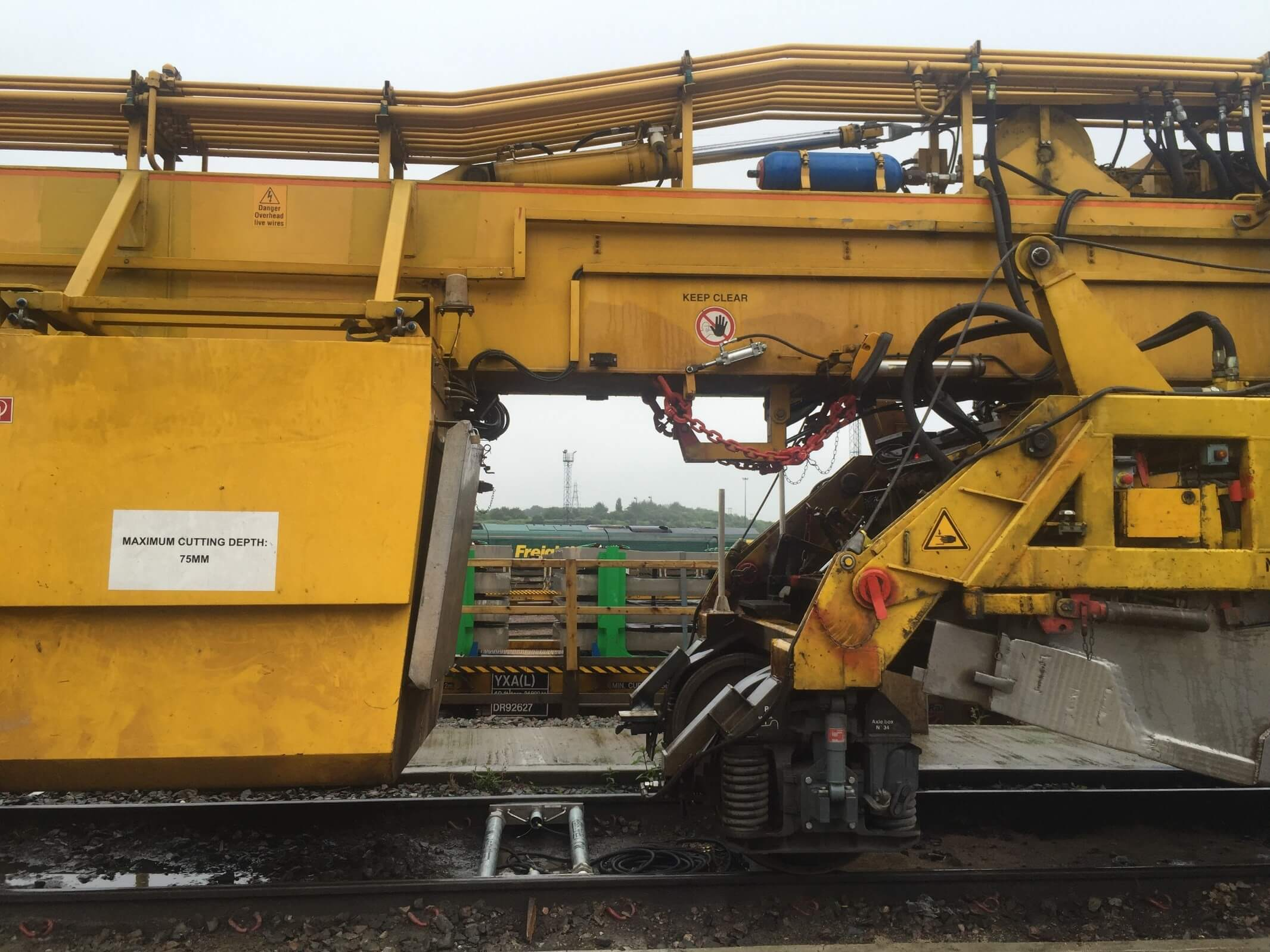 Weighing of Track Renewals train
