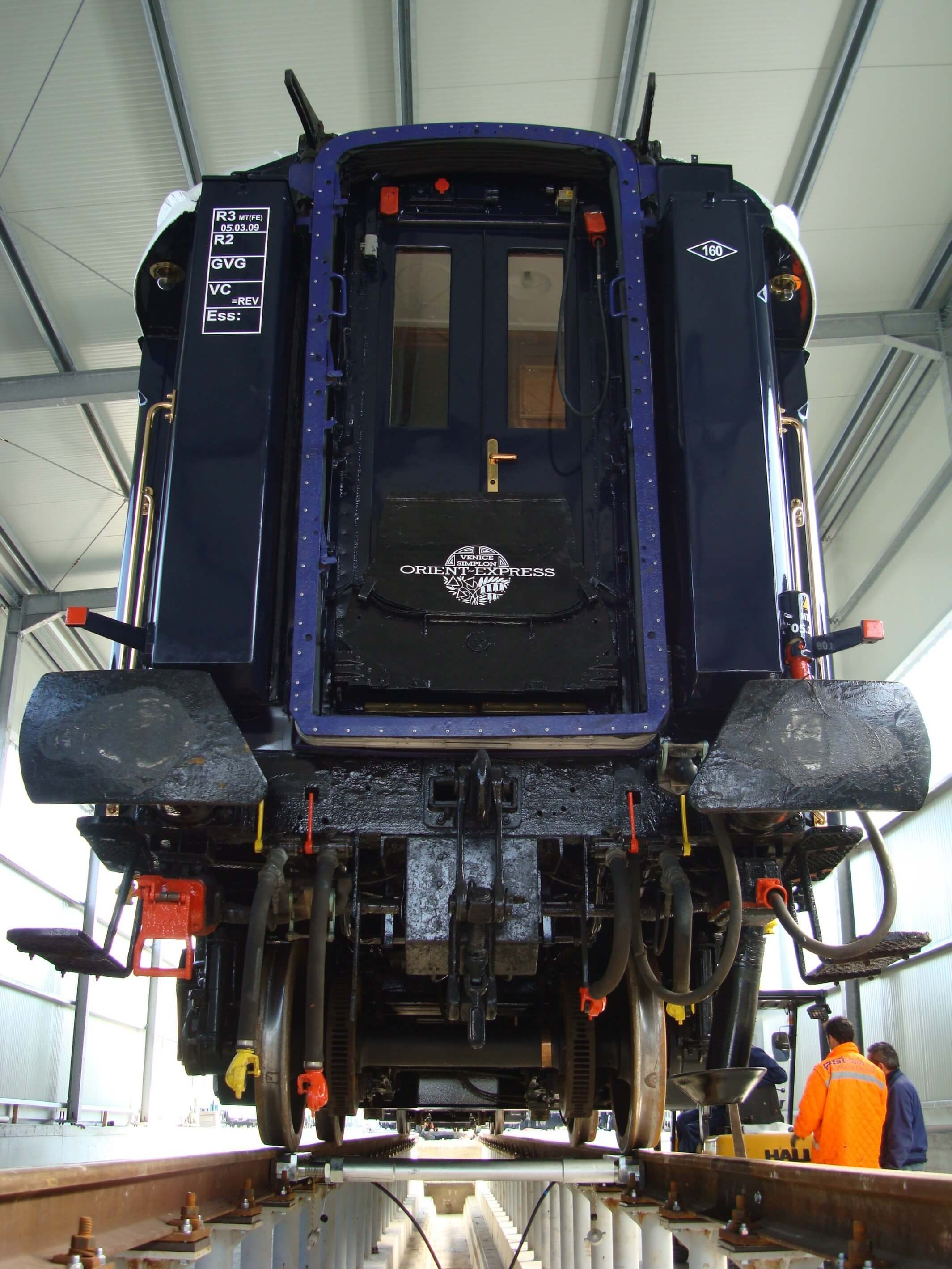 Weighing the Orient Express