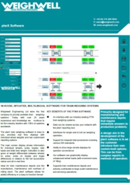 ptwX Software brochure